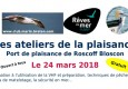 Description de l'évènement 24 mars port de plaisance Roscoff-Bloscon